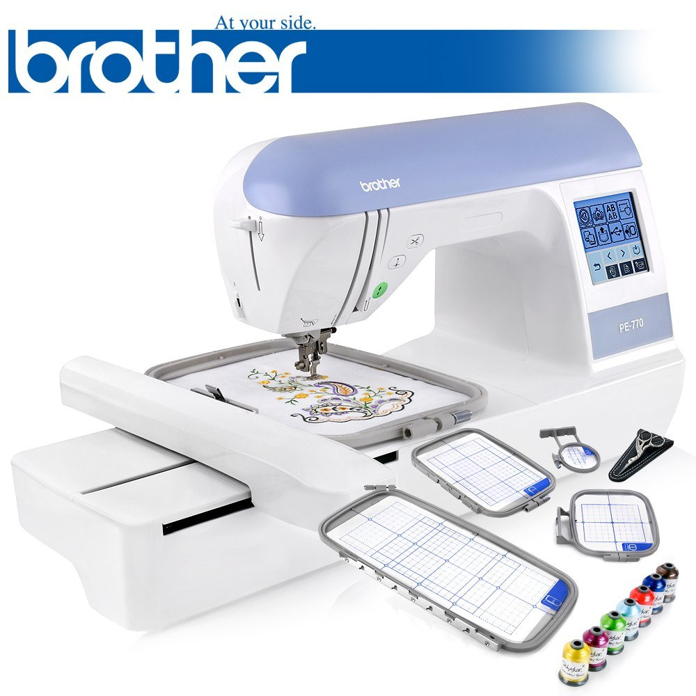 Best embroidery machine which one comes out on top