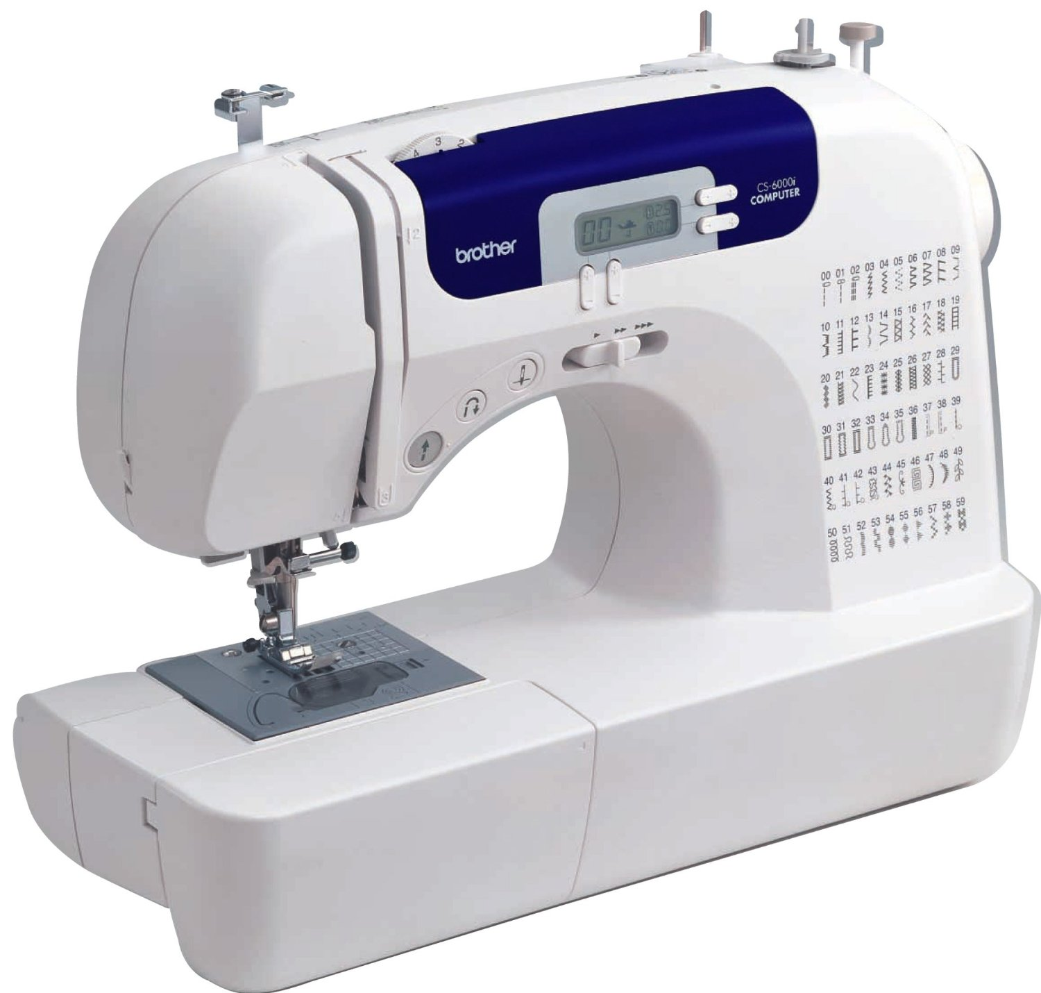 Brother 6000i - best computerized sewing machine on a budget