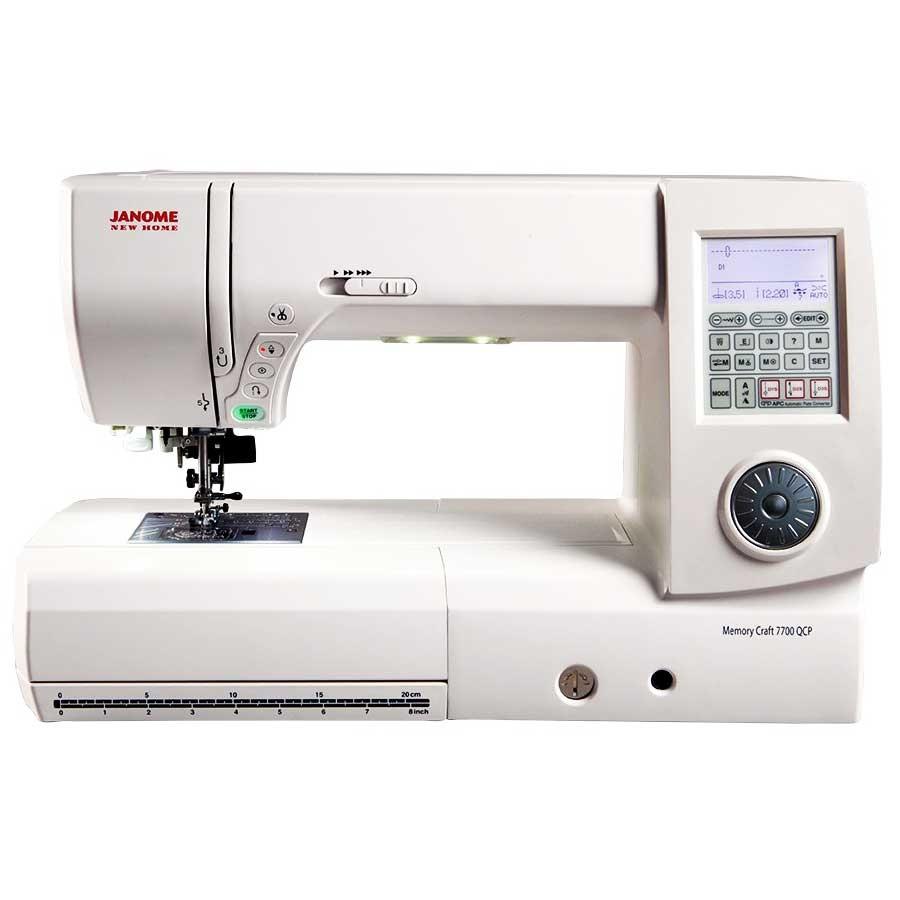 Janome 7700 computerized sewing machine