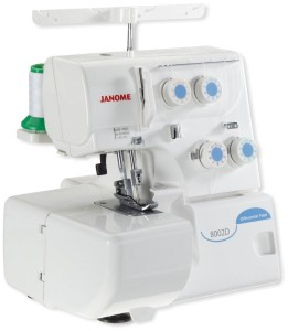Janome 800D serger machine