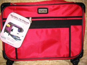 Large Tutto rolling sewing case