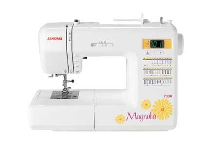 Janome Magnolia 7330 computerized sewing machine