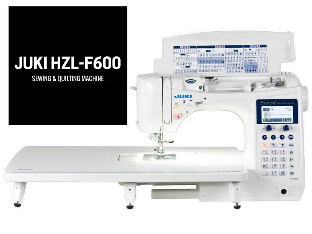 Juki HZL-F600 sewing and quilting machine