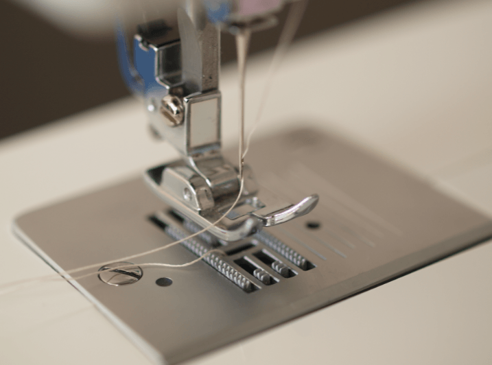 sewing machine stitching