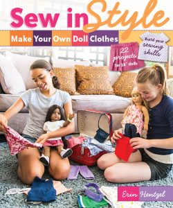 "Sew in Style - Make Your Own Doll Clothes: 22 Projects for 18"" Dolls"