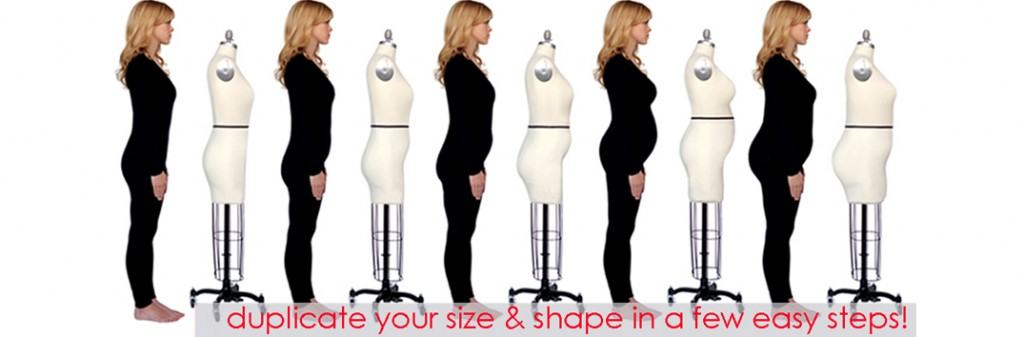 Fabulous Fit sizes - adjustable dress form