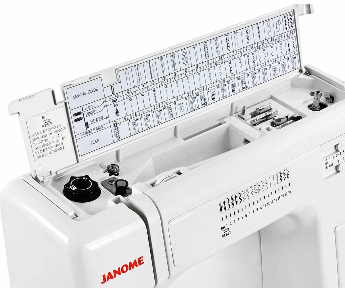 Janome HD3000 heavy duty sewing machine