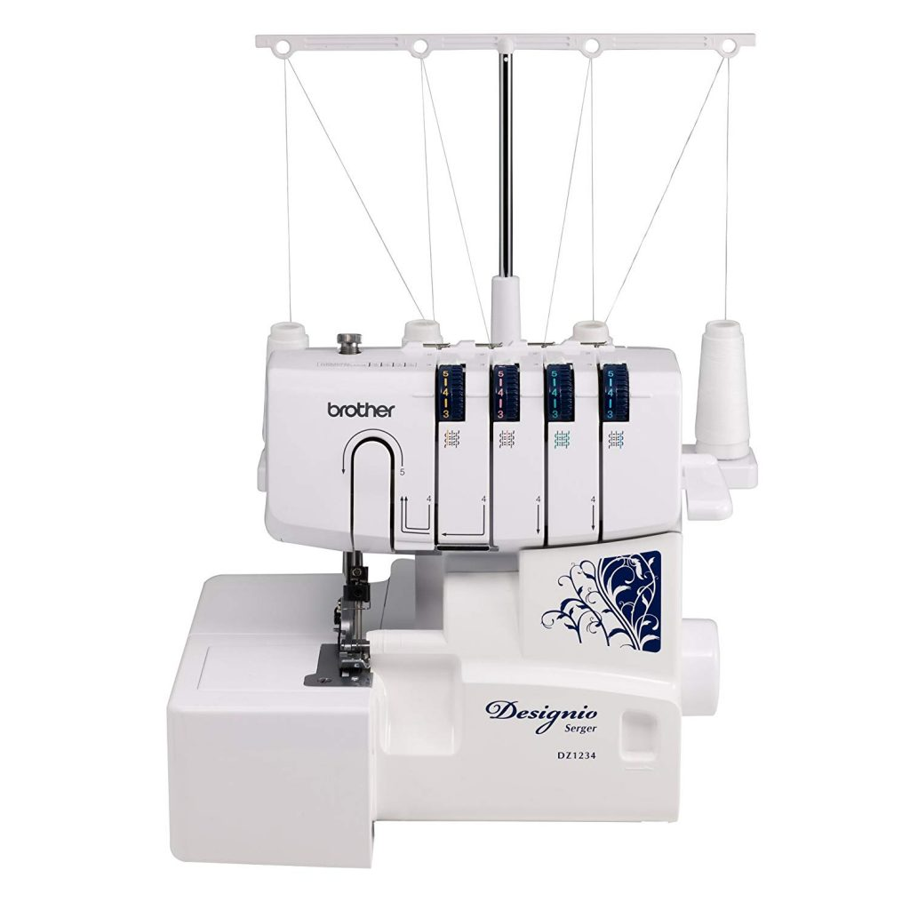 Brother Designio Series DZ1234 Serger Overlock machine