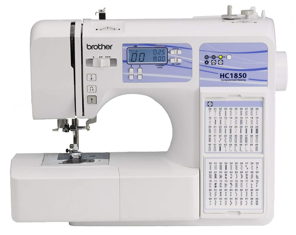 Brother HC1850 Computerized Sewing and Quilting Machine