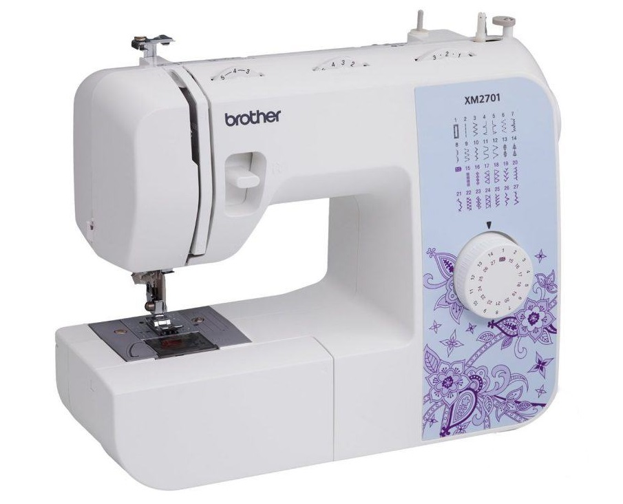 Brother Sewing Machine, XM2701, Lightweight Beginner Sewing Machine