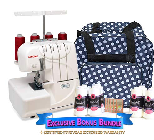 Janome 733 Horizon serger machine