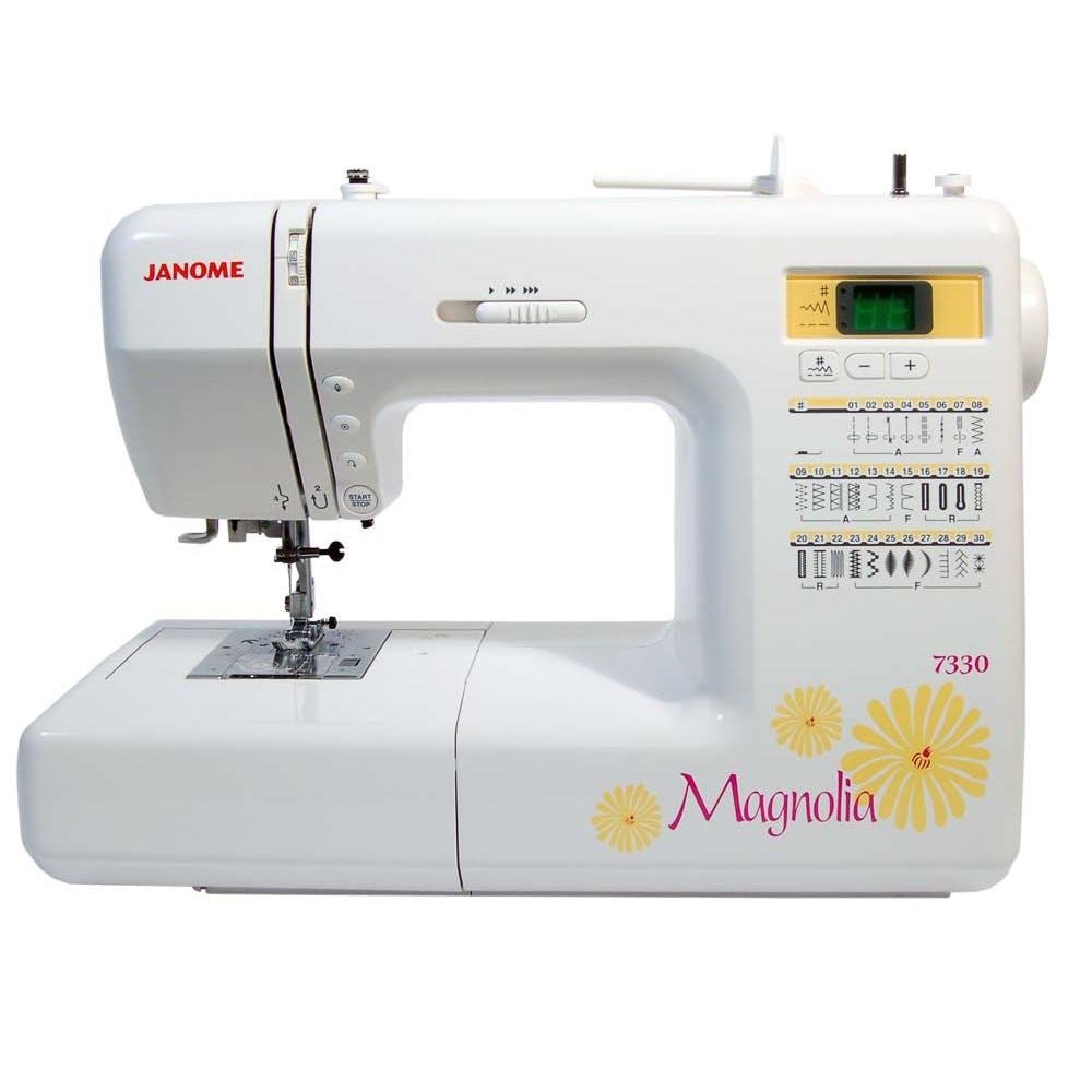 Janome 30 Stitch Computerized Magnolia 7330 Sewing Machine
