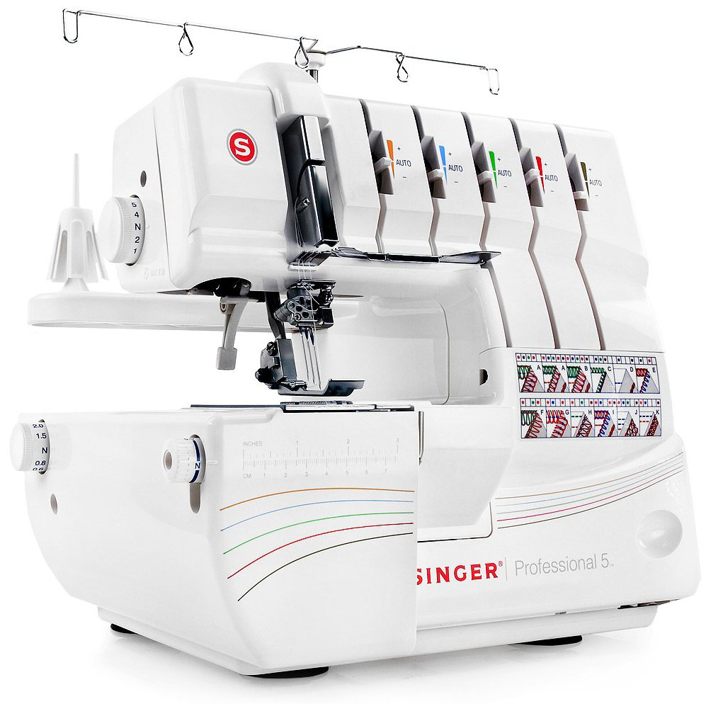 Singer professional 5 serger review